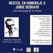 recital 31 de enero homenaje a Debravo