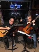 Ken and Martin at Elwood's Pub 10:28:18
