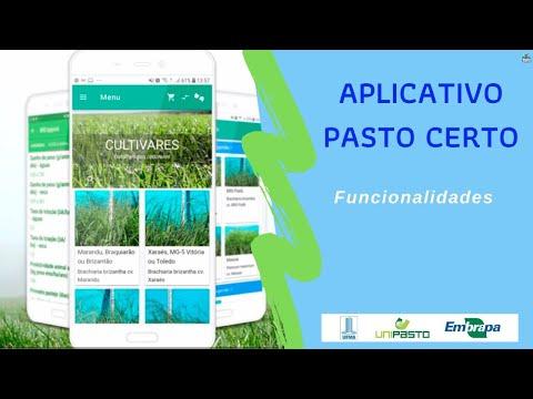 Funcionalidades Aplicativo Pasto Certo (01) | Série Pasto Certo
