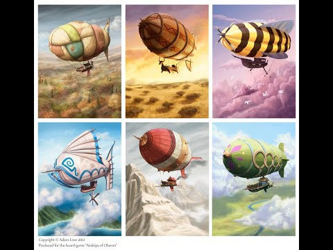 Top 5 Steampunk Airships
