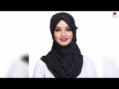 2020 Arabic / Dubai Hijab Styles for Modest Women