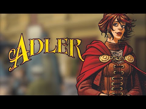 Adler #1 Trailer! Clash of the Heroines! On Sale Feb 5th