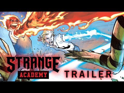 STRANGE ACADEMY Trailer #2 | Marvel Comics