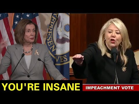YOU ARE TEARING THIS COUNTRY APART - Smart Congresswoman DISMANTLE Nancy Pelosi In Congress