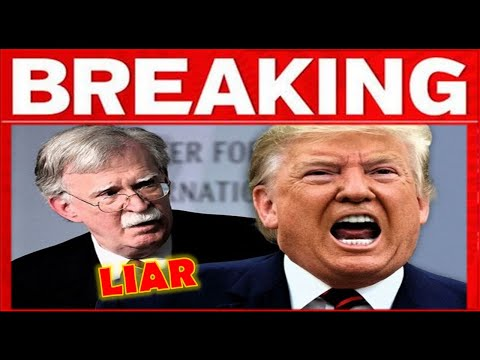 BOOM !! John Bolton In Hot Water – Trump Finds S-MOKING G.UN