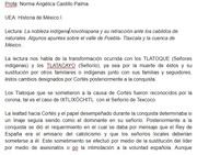 """reseña de """"La nobleza indígena novohispana y su retracción ante los cabildos de naturales. Algunos apuntes sobre el valle de Puebla- Tlaxcala y la cuenca de México"""" parte 1"""