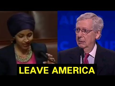 """SHE DOESN'T BELONG HERE"" MITCH MCCONNELL DISMANTLES ÌĹHÀŃ ÒMÂŔ"