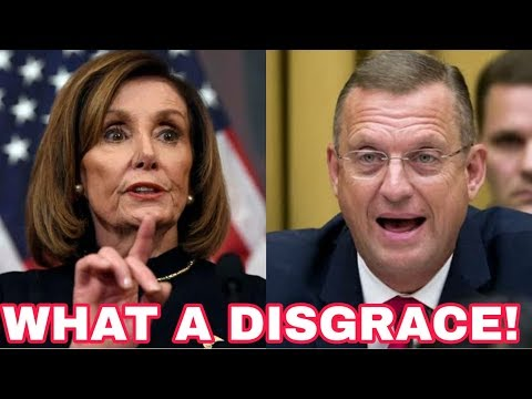 WHAT A DISGRACE! Brave Congressman LEAVES Nancy Pelosi SPEECHLESS in Epic Hearing