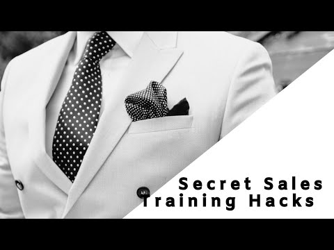 Secrets Sales Training Hack