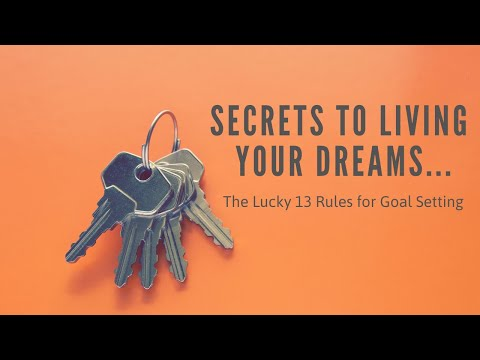 The Secret Rules of Goal Setting