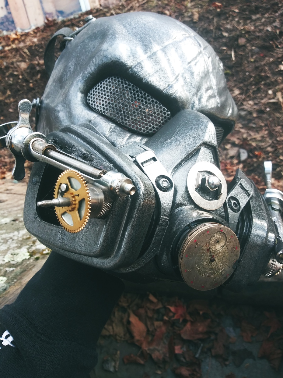 Steampunk Dr. Death Mask