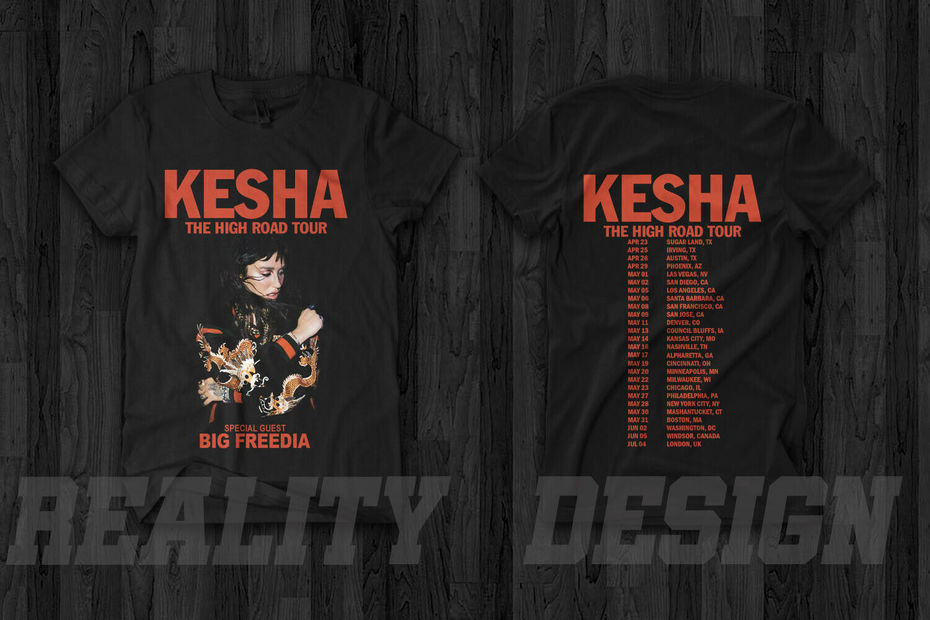 Kesha Kesha The High Road Tour 2020 T Shirt