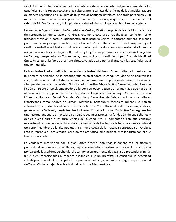 Los mensajeros de Cortés 4