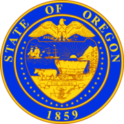 Oregon-State Seal.~ CLEAN UP  !!!!!