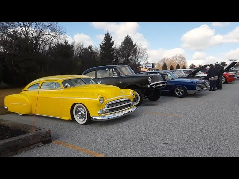 Checking Out the 2020 Motor Menders Winter Beater Cruise Part 1