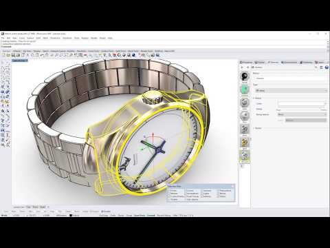 Quick Tip: How to apply different materials on a polysurface