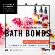 Valentine Crafting & Cocktails at FIGat7th!