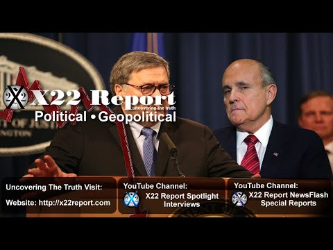 "It Was A Trap, Barr Assessing RG Ukraine Info, Rudy Has The ""Insurance File"" - Episode 2093b"
