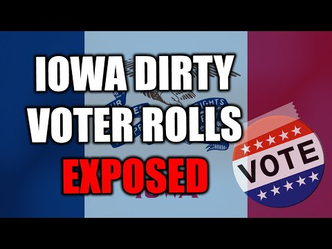 Dirty Voter Rolls EXPOSED in #Iowa--Here's What Judicial Watch Discovered...