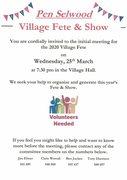 Village Fete Meeting