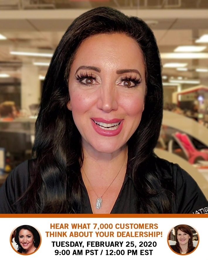 FREE WEBINAR: Hear What 7,000 Customers Think About Your Dealership!