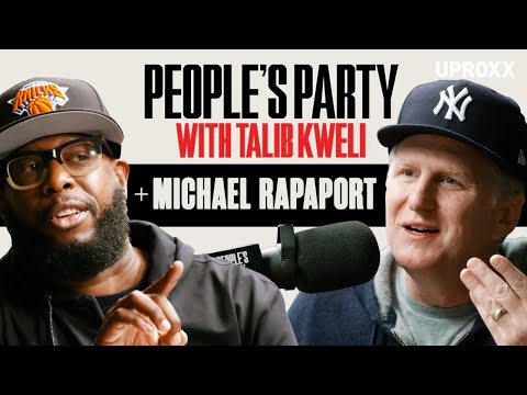 Talib Kweli & Michael Rapaport Talk Ashy Ankles Controversy, N-Word, ATCQ, Hip-Hop | People's Pary