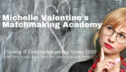 Matchmaking Academy chalkborad