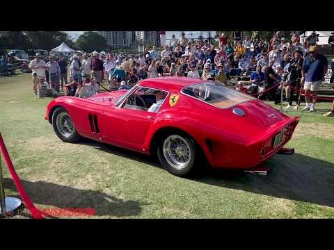 2020 Boca Raton Concours d'Elegance Best in Show Winner: 1962 Ferrari 250 GTO