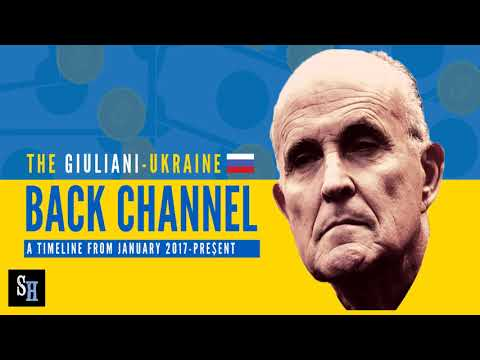 Look At Giuliani's Back Channel Of Proof!