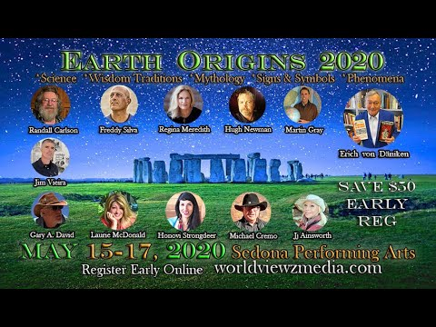 "Earth Origins 2020 with Freddy Silva Mythology Giants & Sacred Sites author of ""The Missing Lands"""