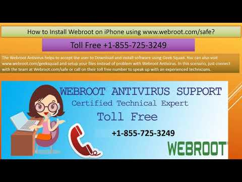 Download Webroot com safe Antivirus?