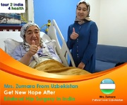Zumara Get New Hope After Bilateral Hip Surgery in India