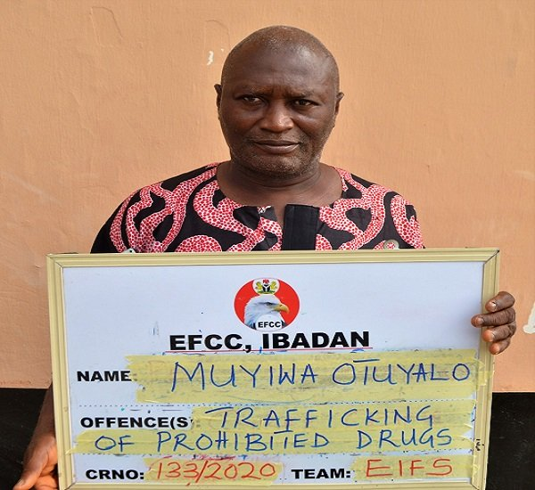 Man Arrested For Smuggling Drugs To Son In EFCC Custody