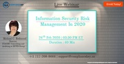 Information Security Risk Management In 2020