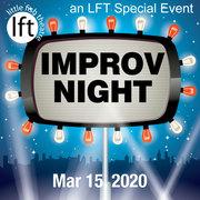 IMPROV NIGHT at Little Fish Theatre