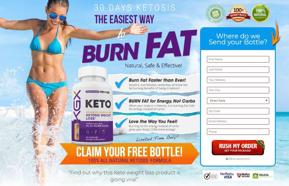 KGX Keto Diet Pills - Ketosis Formula To Reduce Stubborn Fat Easily!