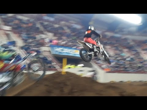 The Big Boys Fly At the 2020 Motorama ArenaCross
