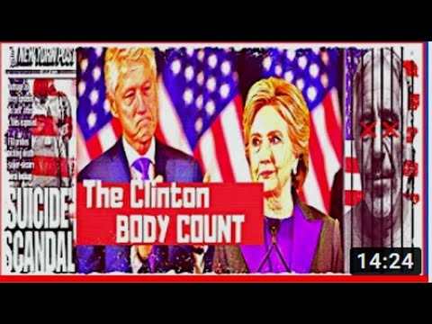 Clinton Body Count Epstein Suicided Mena Iran Contra Barry Seal Medellin PART 1 - Railroad Murders