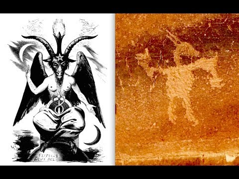 Ancient Baphomet Symbol, Giant Horned Dragons, Cosmic Lightning Storm, Planet X Flyby