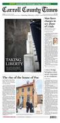 Carroll County Times front page 02/01/2020
