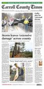 Carroll County Times front page 02/08/2020