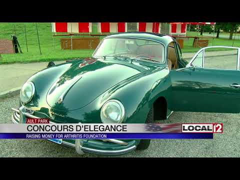 200+ vehicles to be on display at Cincinnati Concours d'Elegance