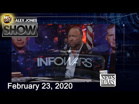 Alex Jones Show  February 23, 2020  C-Virus