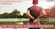 Low-Cost Spine Surgery in Bangalore