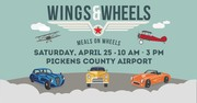 Wings and Wheels Hosted by Pickens County Meals on Wheels