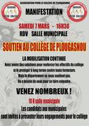 Soutien au collège de Plougasnou