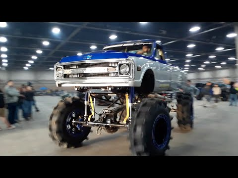 The End Of Show Parade Of Power At the 2020 Motorama Harrisburg Part 2