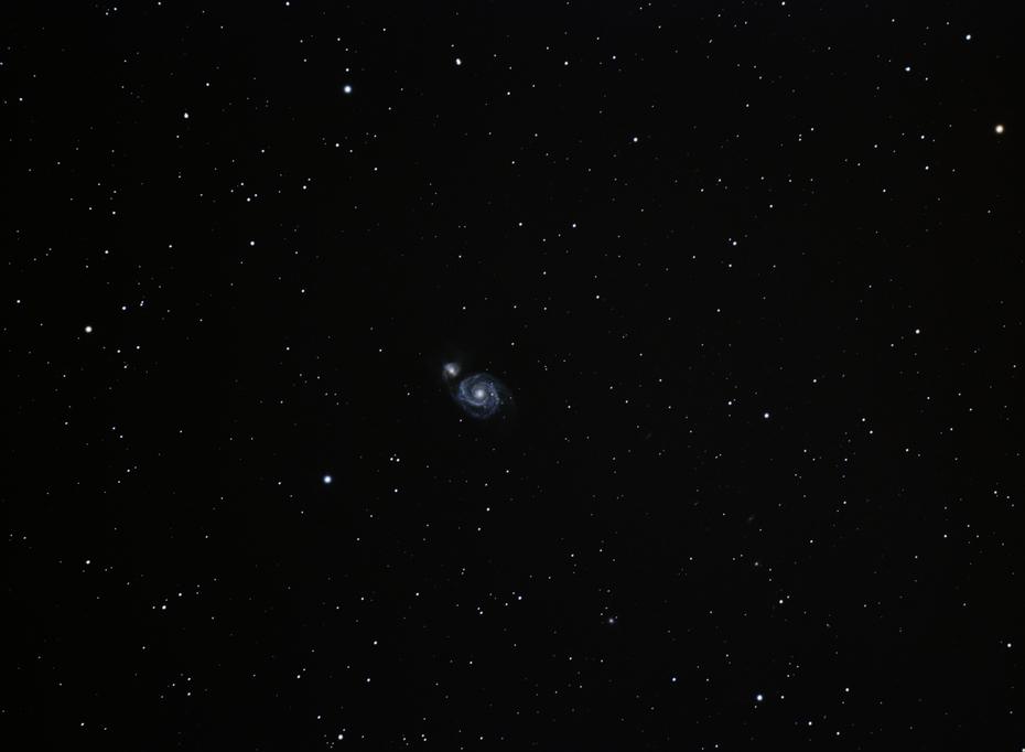 M51 Malströmsgalaxen