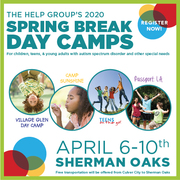 The Help Group Kids Like Me Spring Break Camp