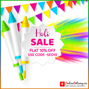 Send Holi Gifts to Hyderabad Use Code (SEO10 )